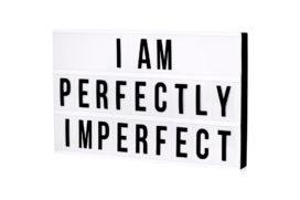 Niet perfect is ook goed: kracht van imperfectie