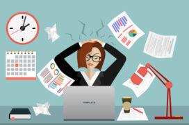 5 belangrijke oorzaken van werkstress