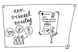 Hoe maak je een visueel vergaderverslag?