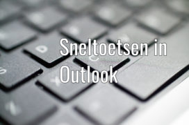 Handige sneltoetsen in Outlook