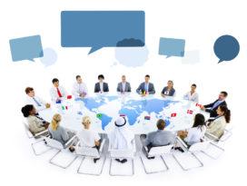 Internationaal vergaderen