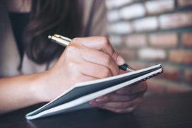 Notulen liever schrijven dan typen?