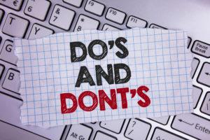 Mailen: drie belangrijke do's en dont's