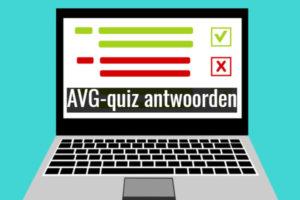 AVG-quiz antwoorden: instinkers, zekerheidjes en verrassingen