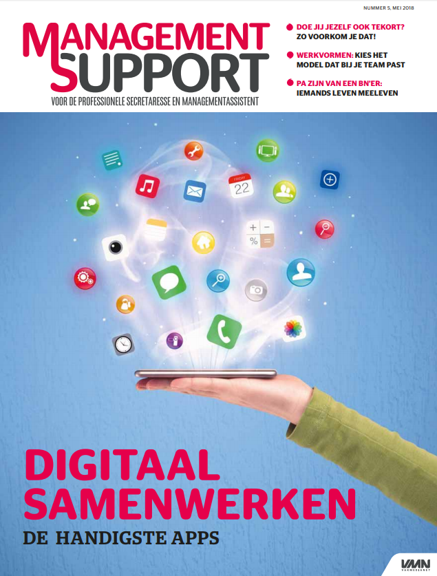 Management Support Magazine 5, mei 2018
