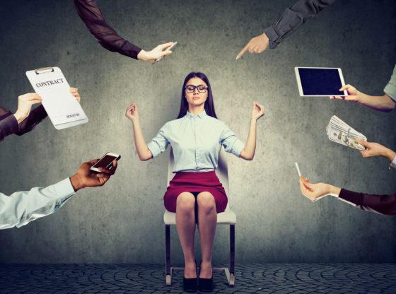 Blijf je brein de baas bij stress