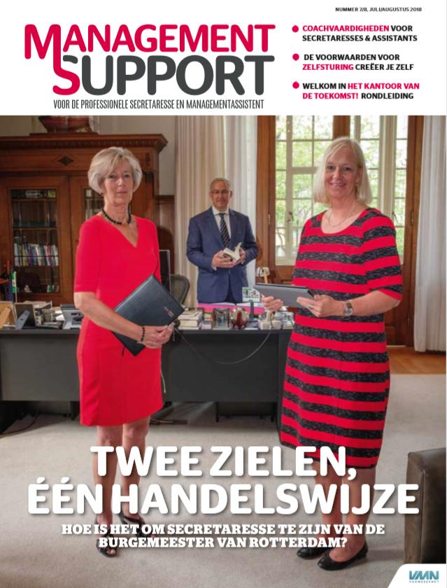 Management Support Magazine 7/8, juli/augustus 2018