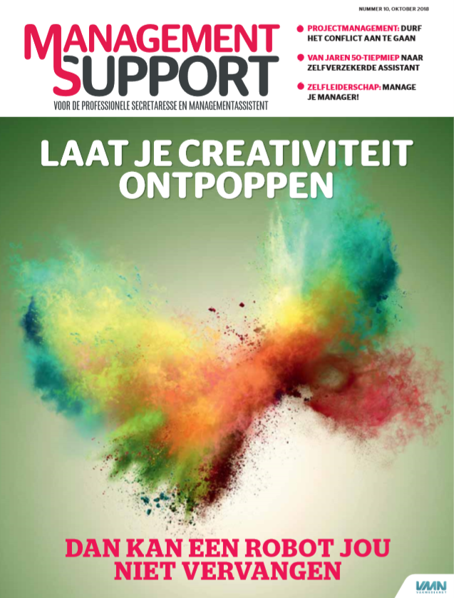 Management Support Magazine 10 oktober 2018
