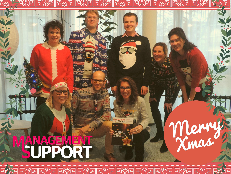 Lelijke Kersttrui.Kerstgroet In Lelijke Kersttrui Wie Is Wie Management Support