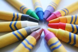 Durf buiten de lijntjes te kleuren