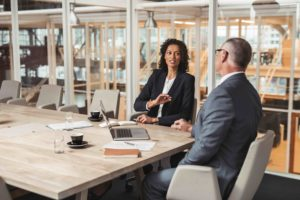 Sparringpartner: professioneel in gesprek met collega's en management