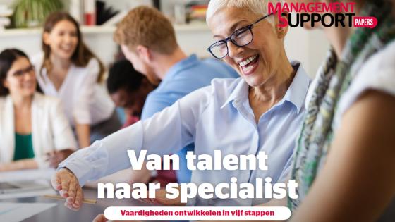 Van talent naar specialist: ontwikkel jouw vaardigheden met deze gratis whitepaper
