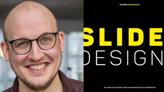Slide designer Maarten van der Schaal: 'We hebben op school nooit leren presenteren'