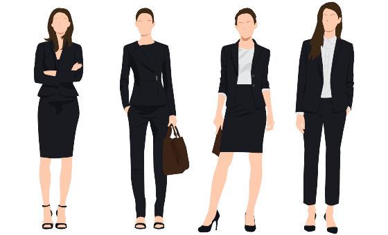 Zwarte kleding op kantoor: ken je opties, weet wat je uitstraalt